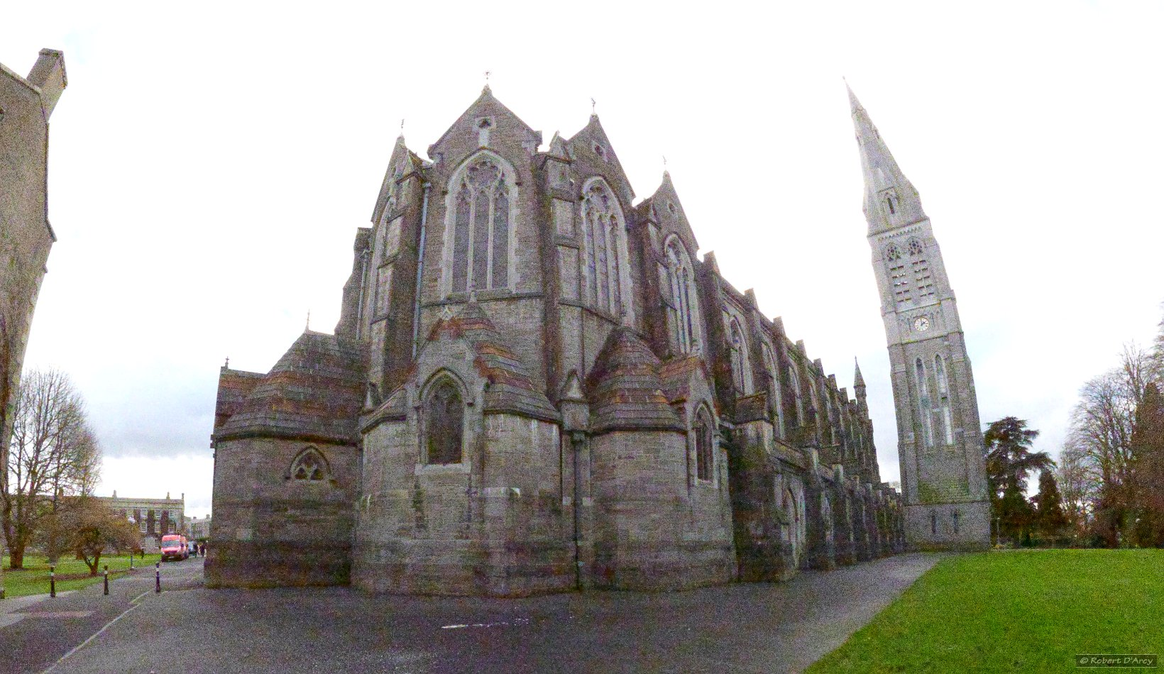 The college chapel seen from the outside
