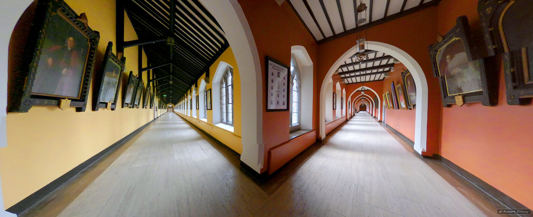 The corridors of St. Patrick's House - perspective projection